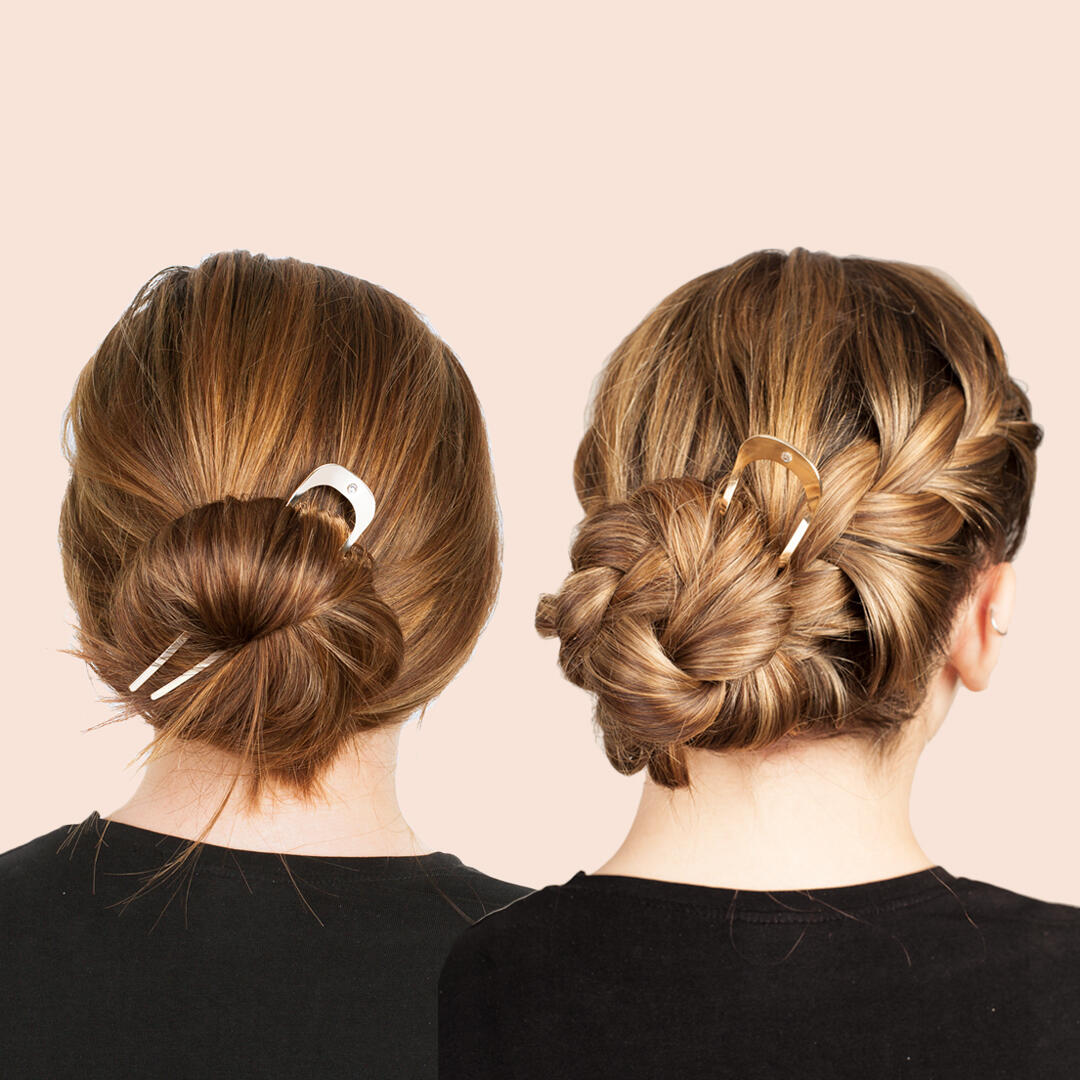 Hairstyle tips with Rapunzel Bun Pin