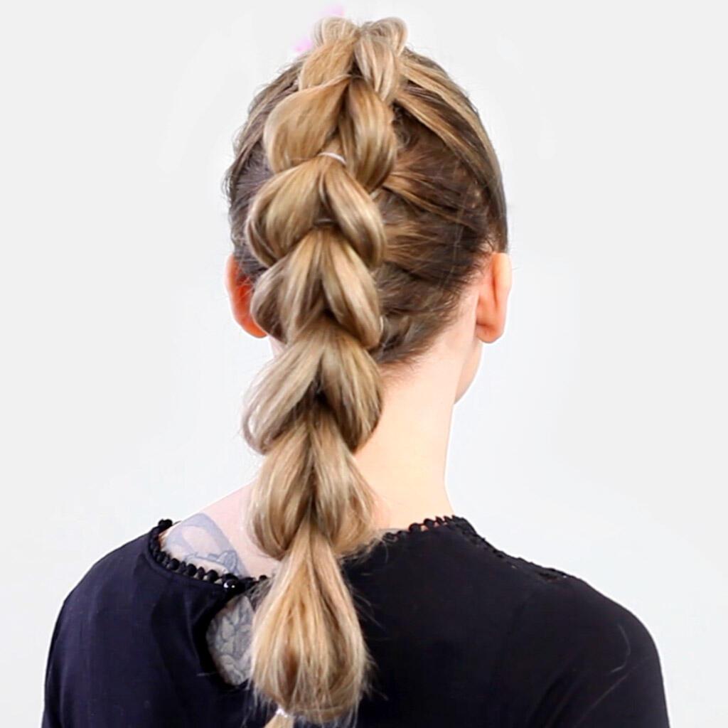 Step-by-step - Pull-through Braid