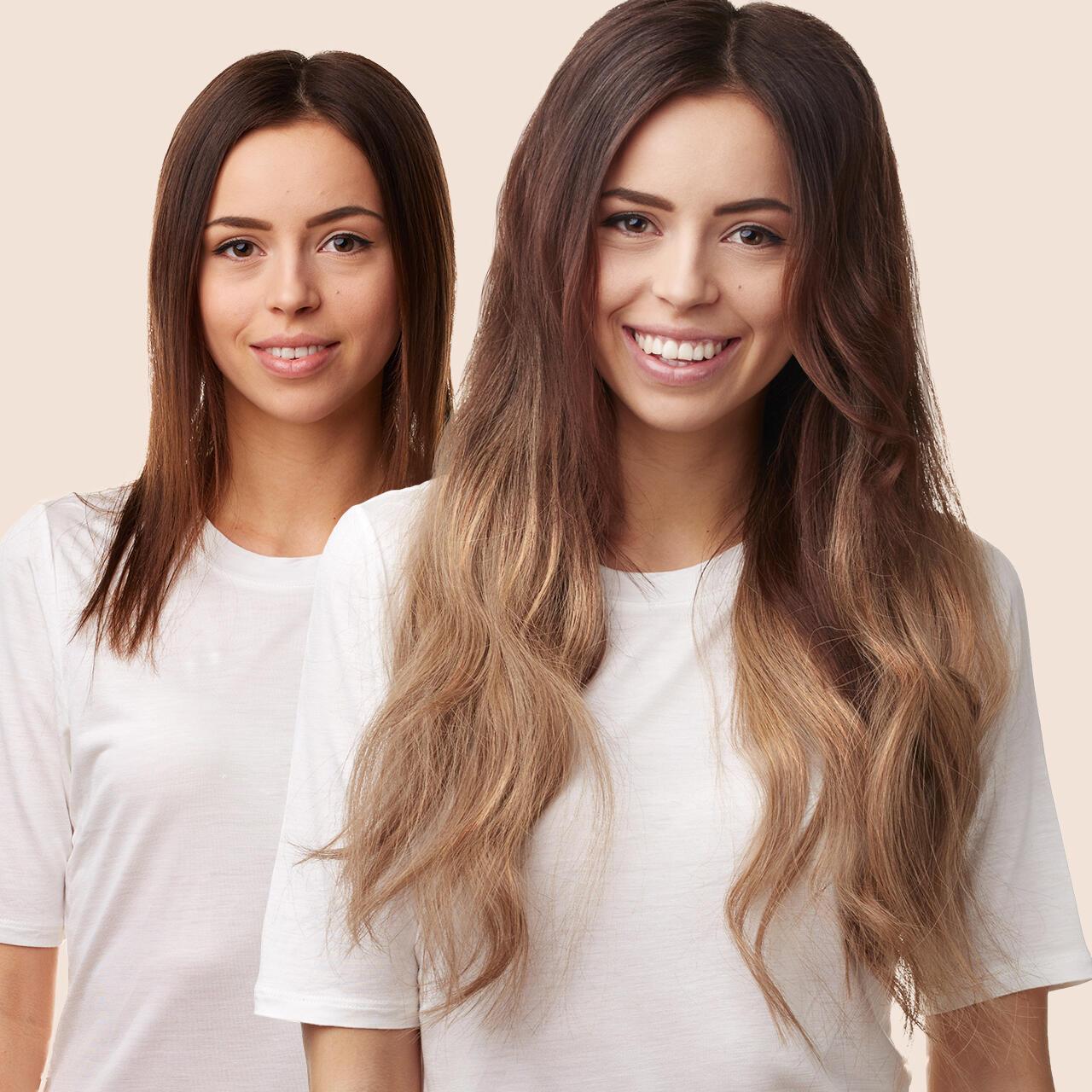 Wie lang mussen haare sein fur haarverlangerung