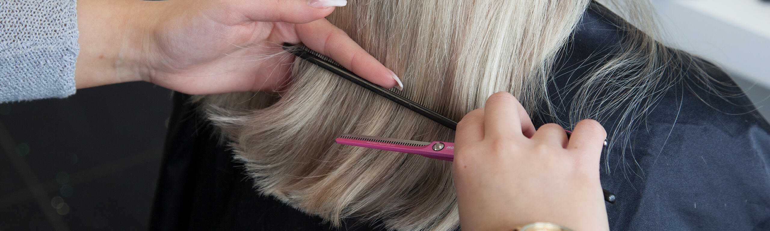 Haarverlangerung mit nahen
