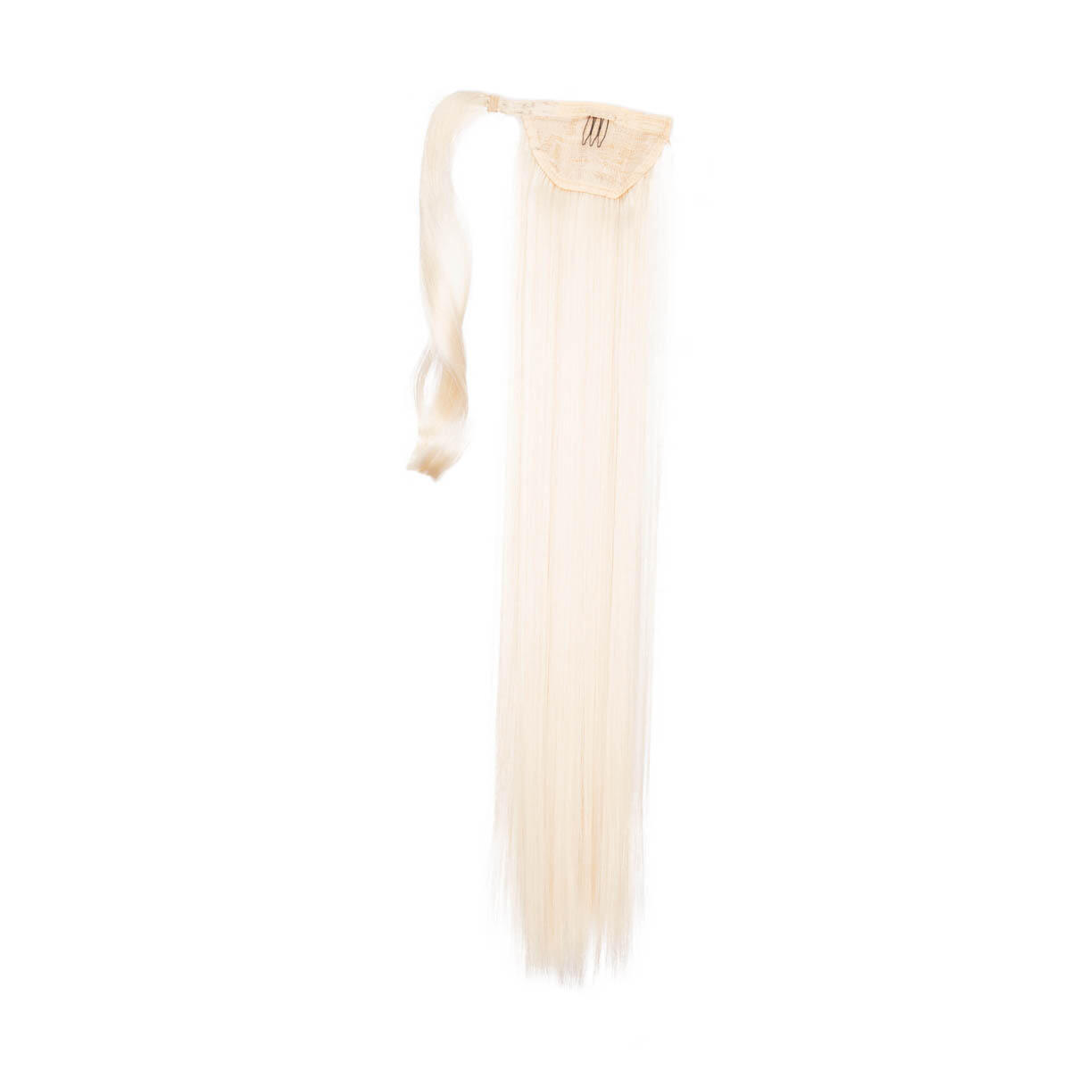 Clip-in Ponytail 10.10 Platinum Blonde 50 cm