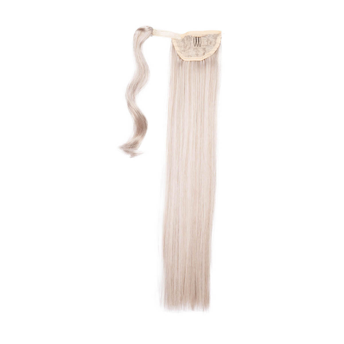 Clip-in Ponytail Synthetic 10.5 Grey 50 cm