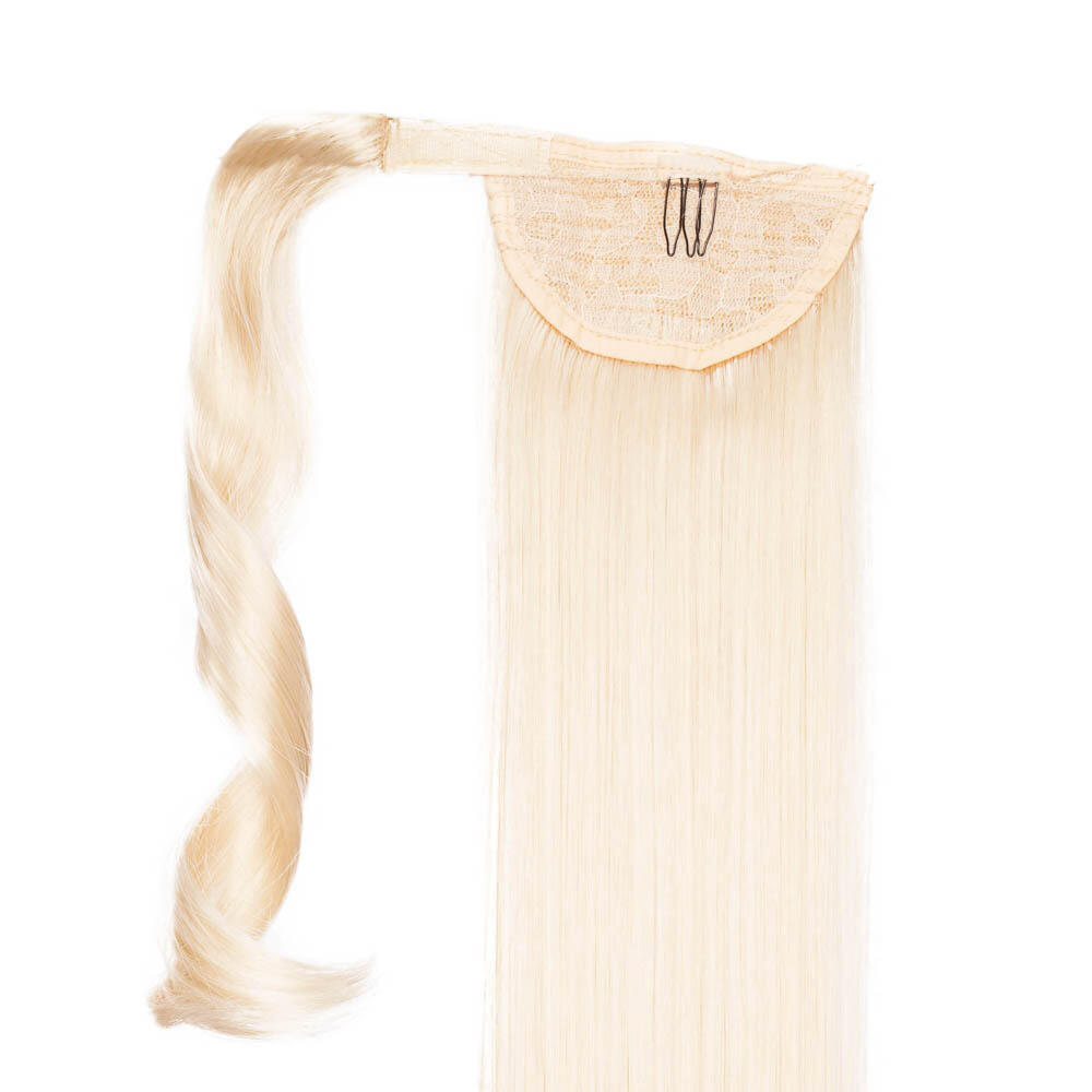 Clip-in Ponytail Synthetic 8.0 Light Golden Blonde 50 cm