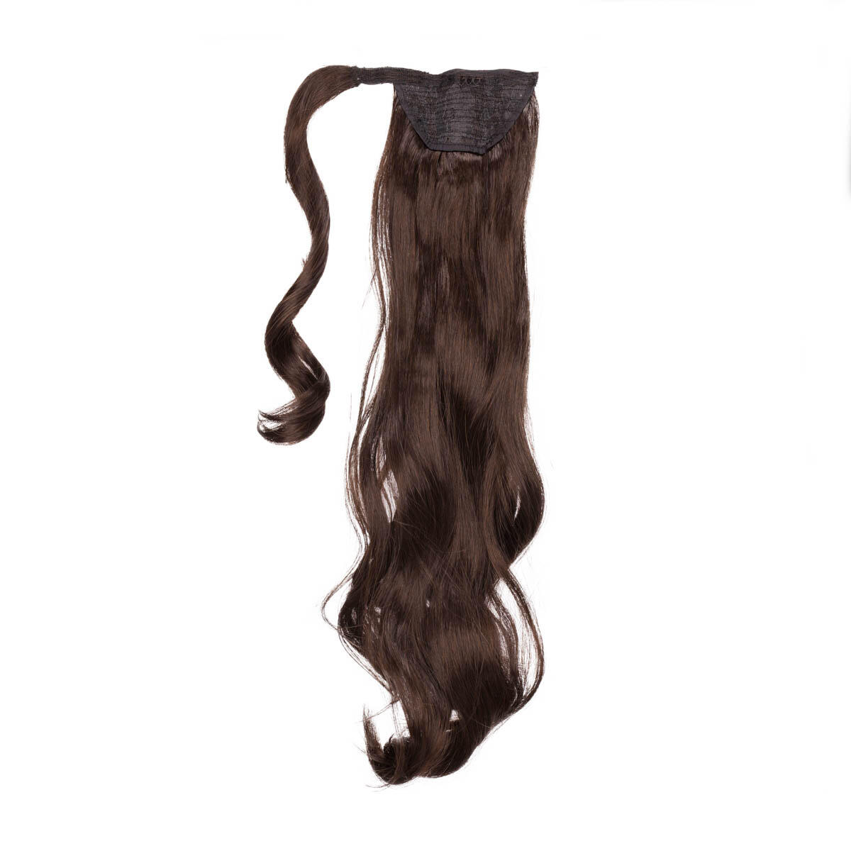 Clip-in Ponytail Synthetic Beach Wave 2.2 Coffee Brown 50 cm