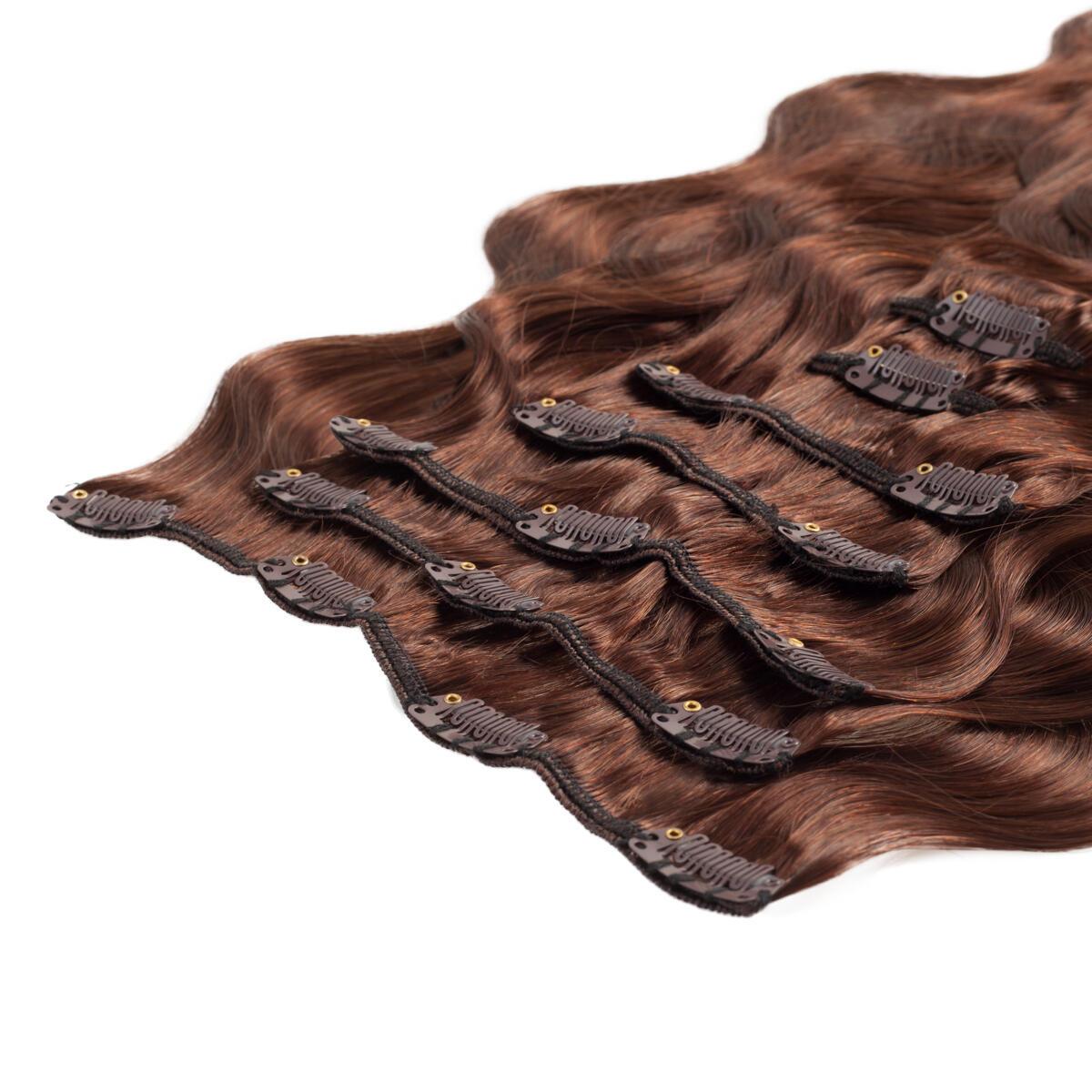 Clip-on set 2.0 Dark Brown 60 cm