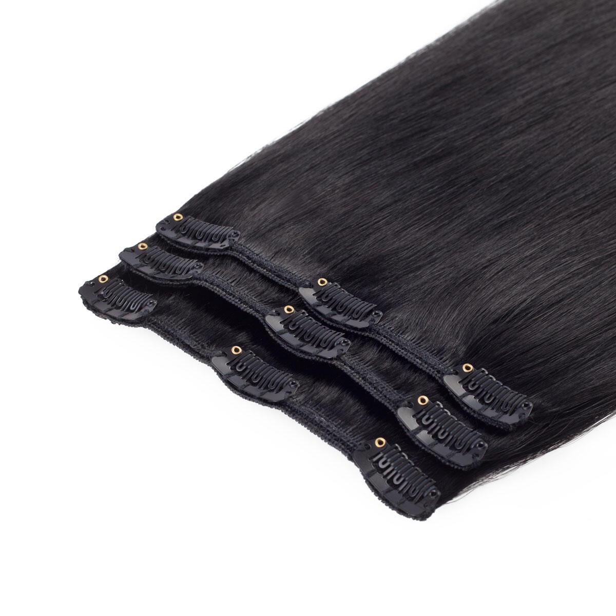Clip-on set 1.0 Black 40 cm