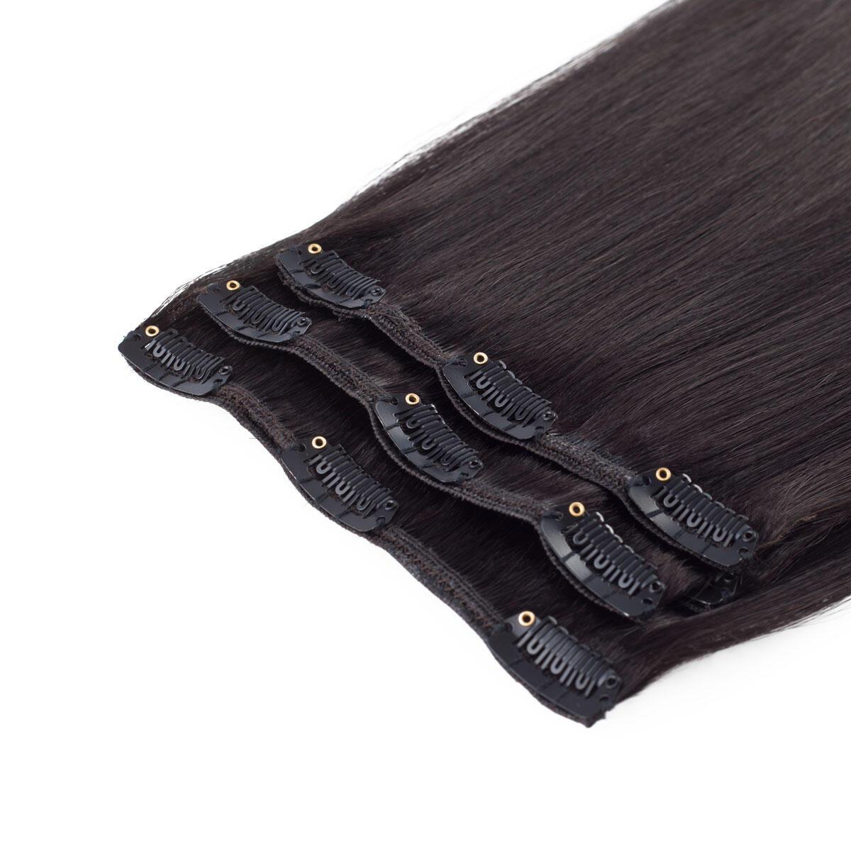 Clip-on set Original 3 pieces 1.2 Black Brown 40 cm