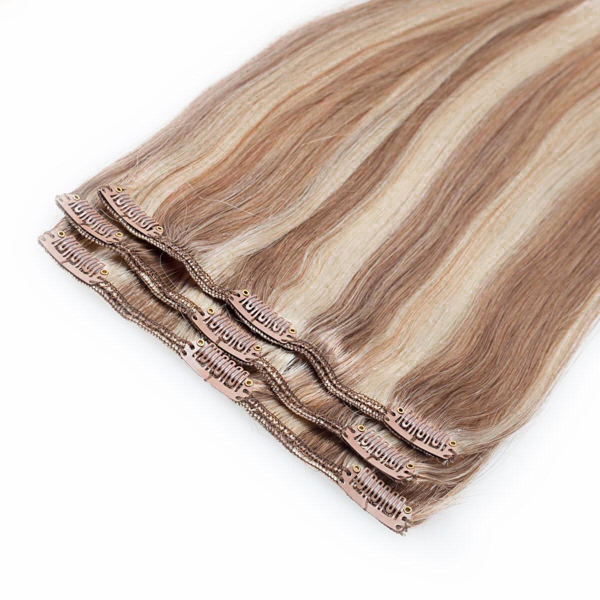 Clip-on set M7.3/10.8 Cendre Ash Blonde Mix 40 cm