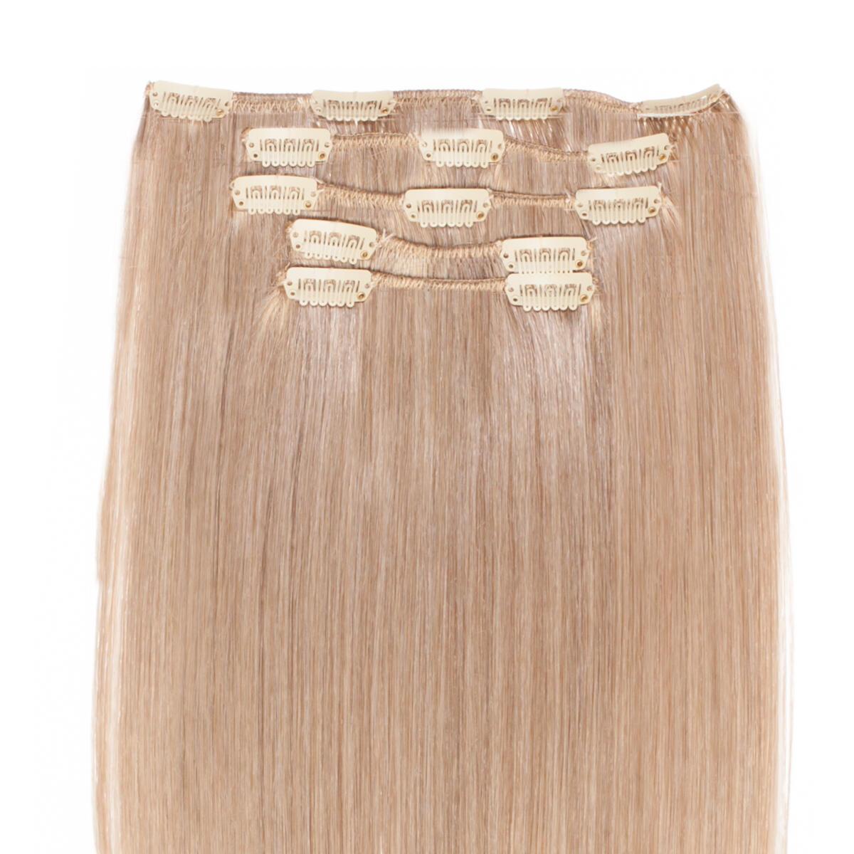 Clip-on set 9.6 Natural Ash Blonde 50 cm