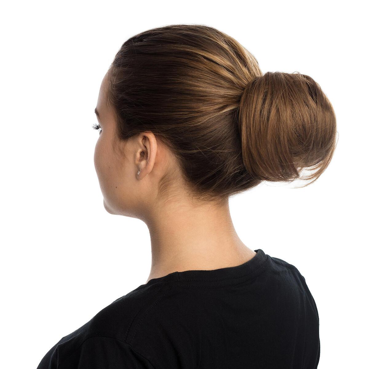 Hair Scrunchie 20 G Scrunchie with real hair 7.5 Dark Blonde