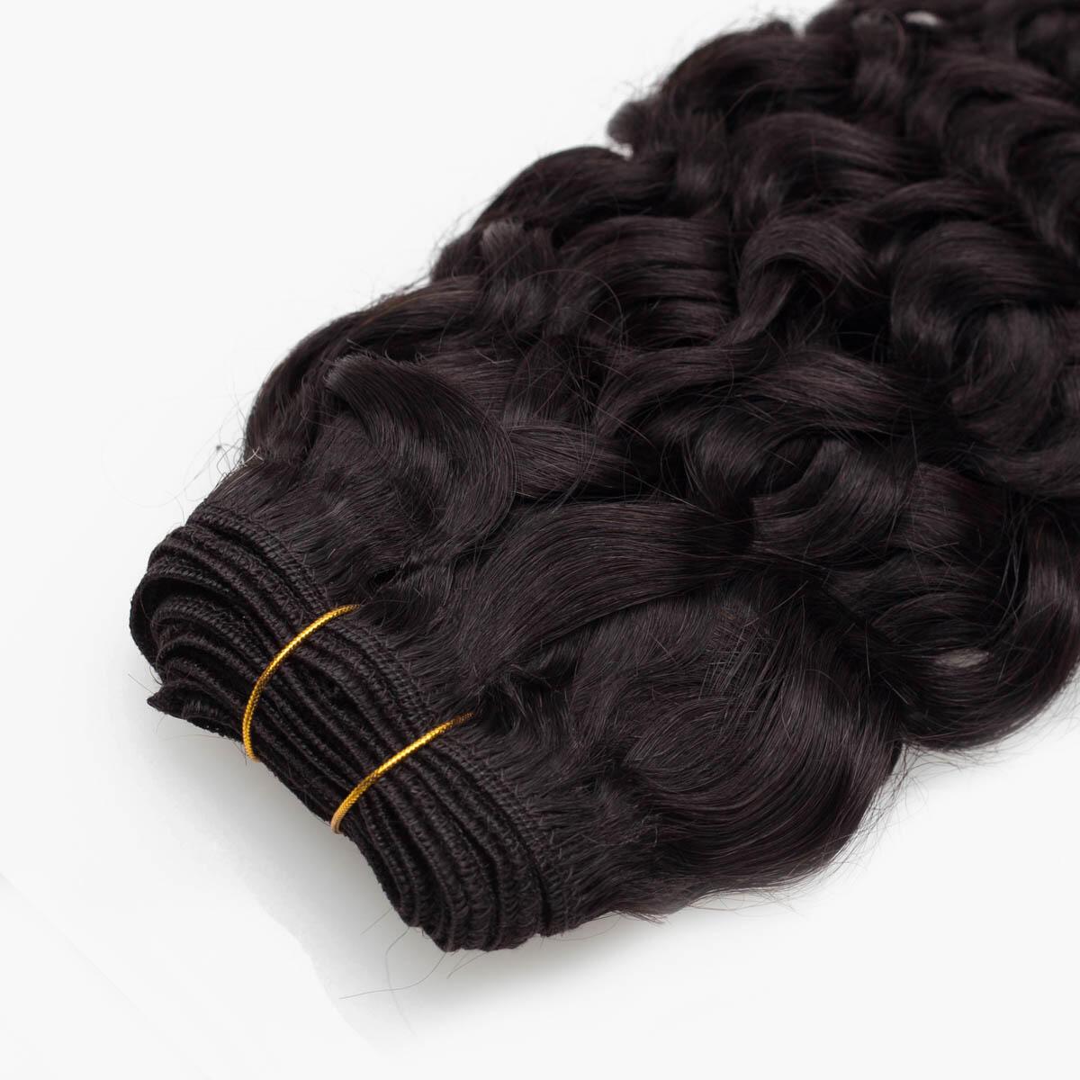Hair Weft Original Bouncy Curl 1.2 Black Brown 40 cm