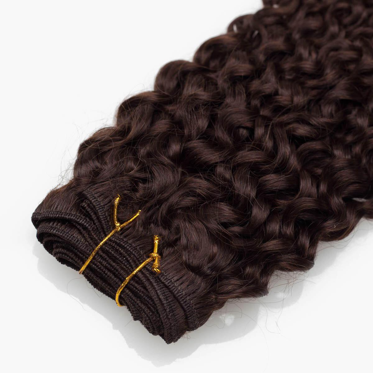 Hair Weft 2.2 Coffee Brown 35 cm