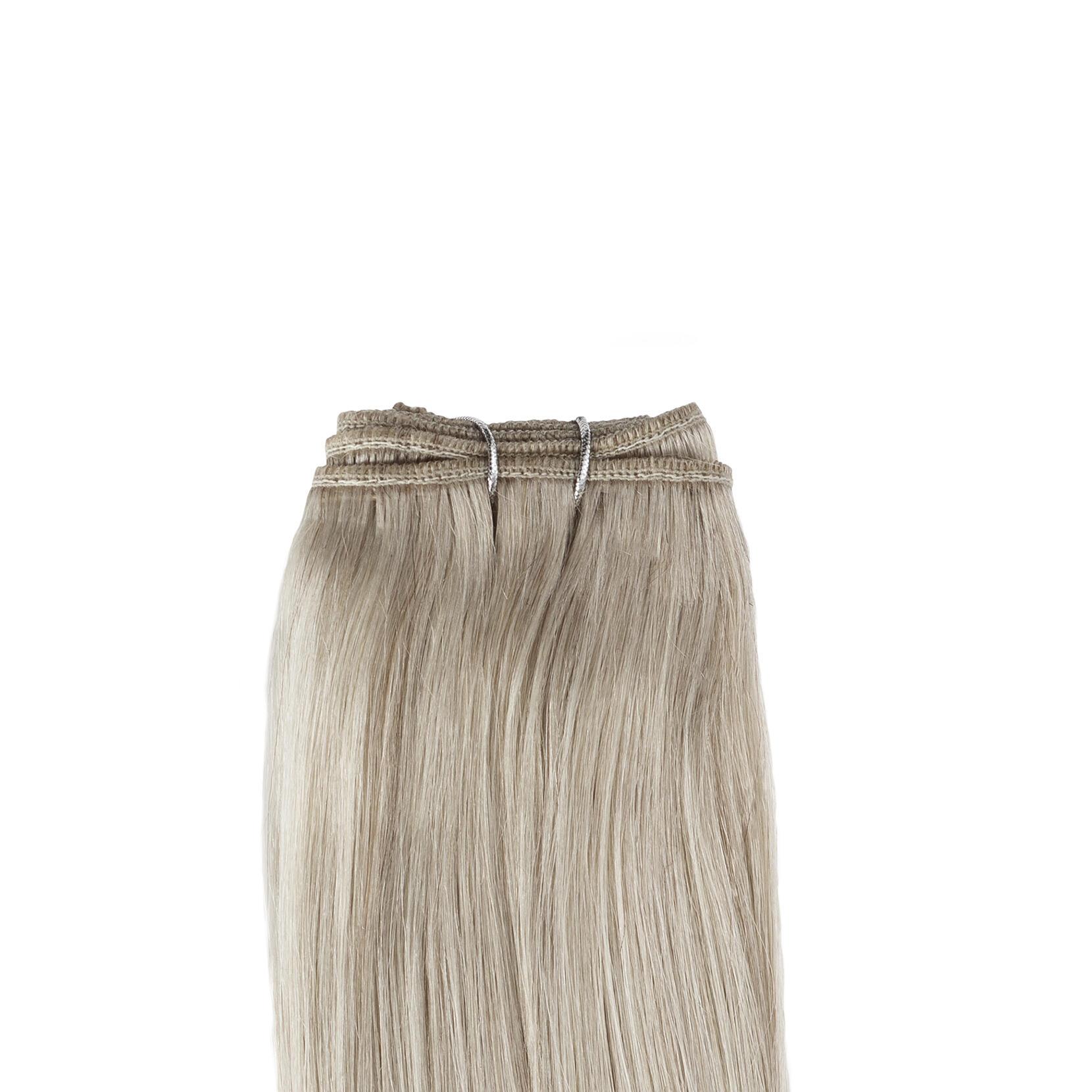 Hair Weft Original 10.7 Light Grey 50 cm