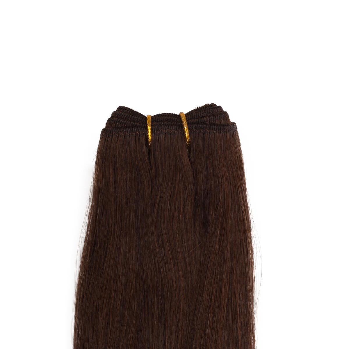 Hair Weft 2.0 Dark Brown 50 cm