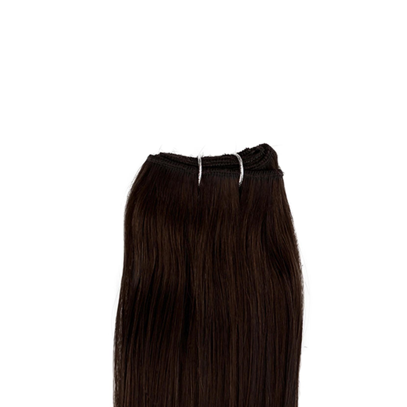Hair Weft Original Straight 2.2 Coffee Brown 50 cm