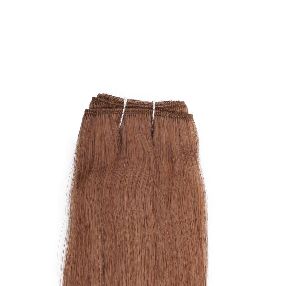 Hair Weft 5.3 Golden Brown 50 cm