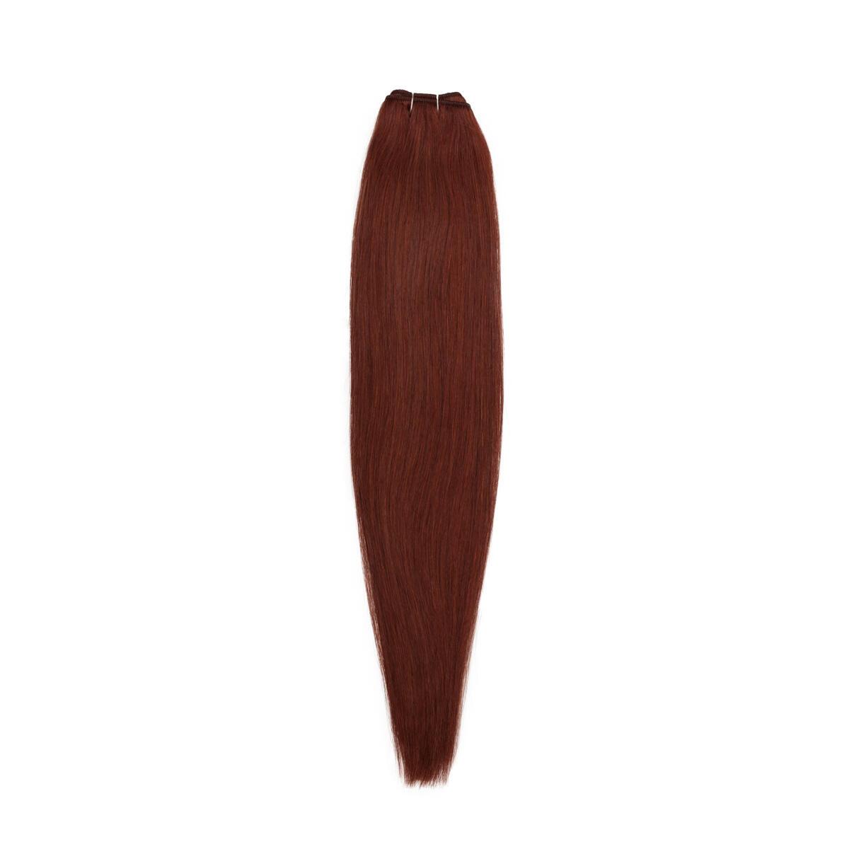 Hair Weft Original 5.5 Mahogany Brown 50 cm