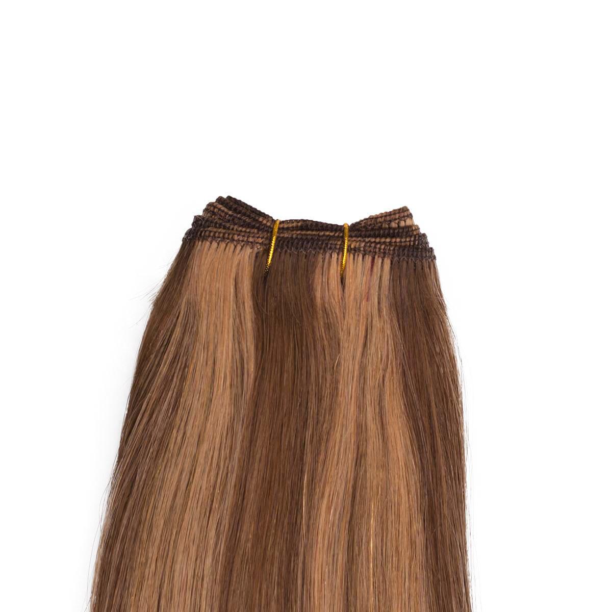 Hair Weft Original Straight M5.0/7.4 Golden Brown Mix 50 cm