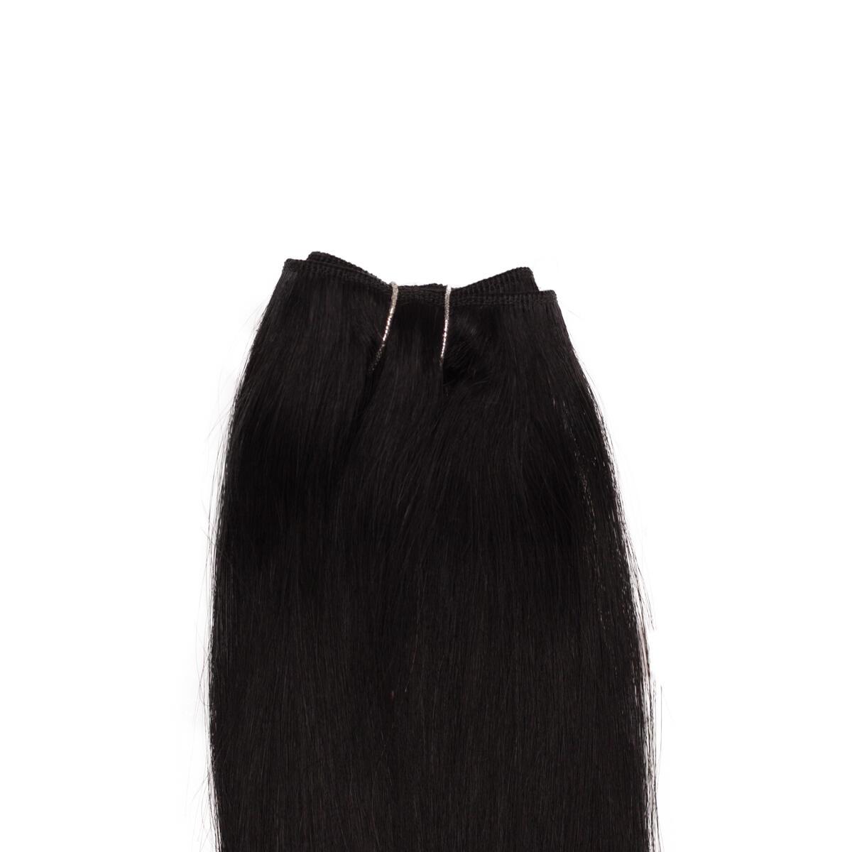 Hair Weft Premium 1.0 Black 50 cm