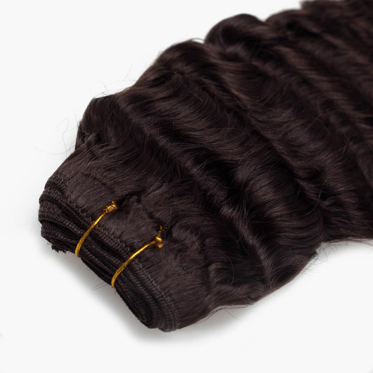 Hair Weft 2.3 Chocolate Brown 45 cm