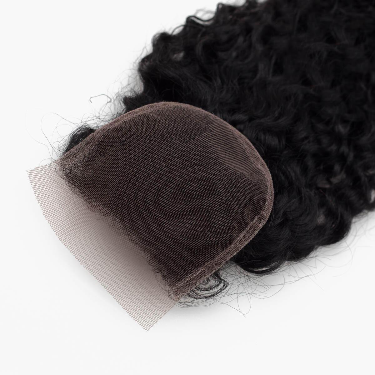 Lace Closure Bouncy Curl 1.0 Black 40 cm