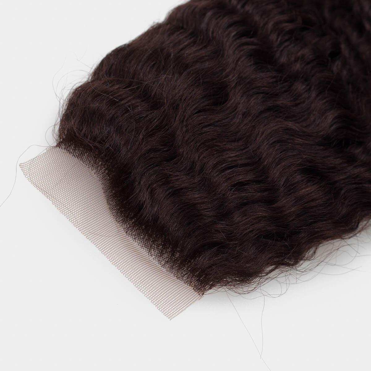 Lace Closure 2.3 Chocolate Brown 40 cm