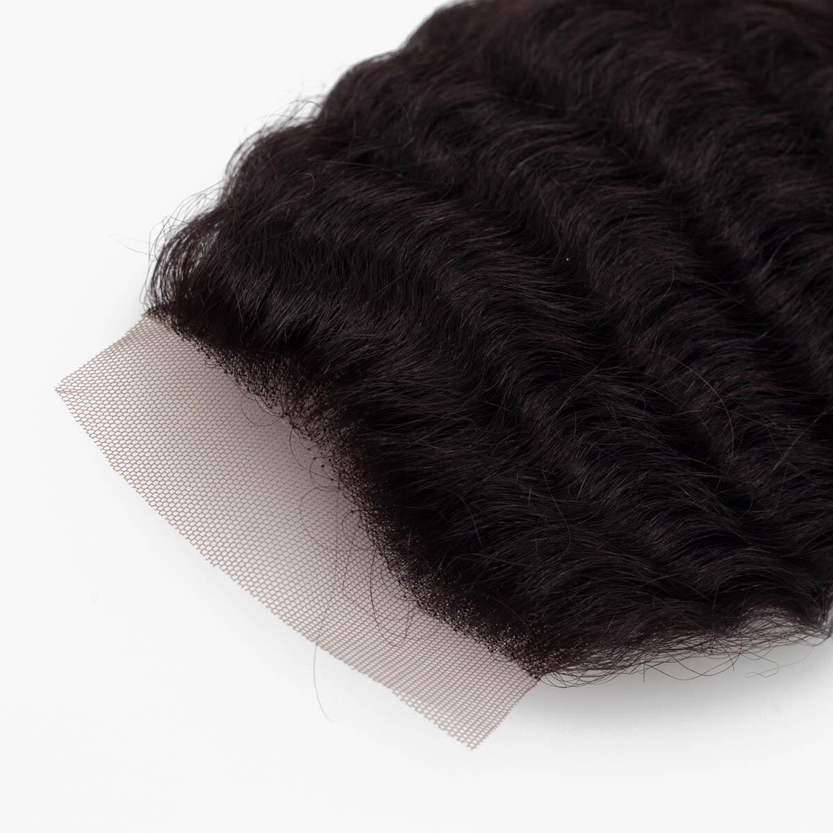 Lace Closure 1.2 Black Brown 35 cm