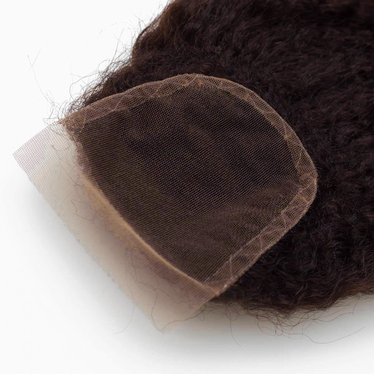 Lace Closure 2.3 Chocolate Brown 25 cm
