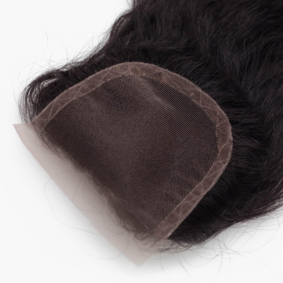 Lace Closure 1.2 Black Brown 45 cm