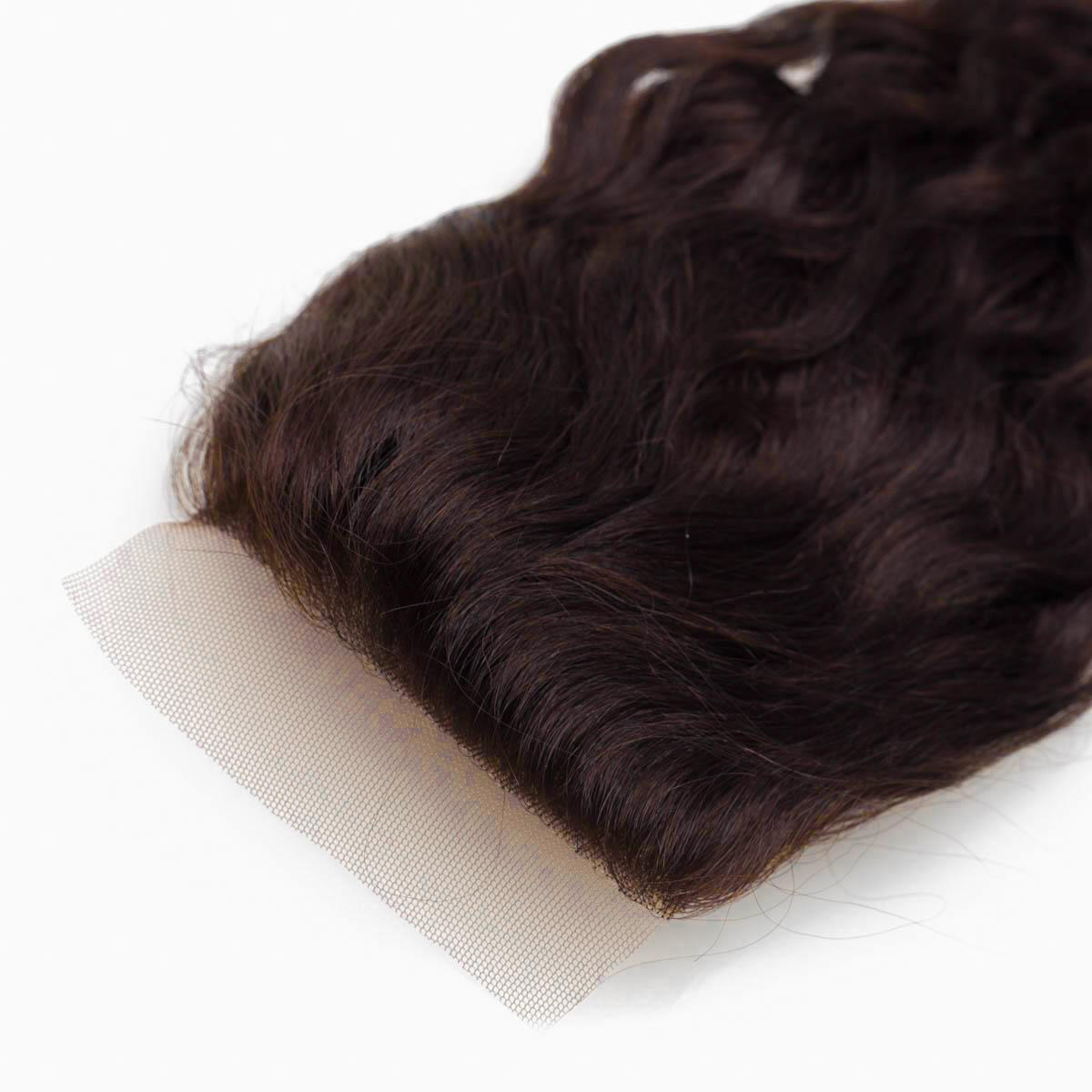 Lace Closure Soft Wave 2.3 Chocolate Brown 40 cm