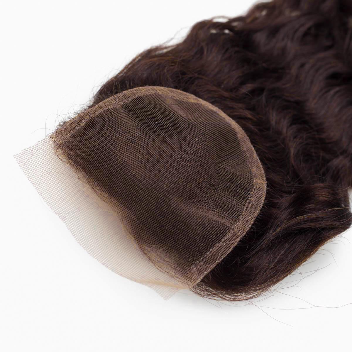 Lace Closure 2.3 Chocolate Brown 45 cm