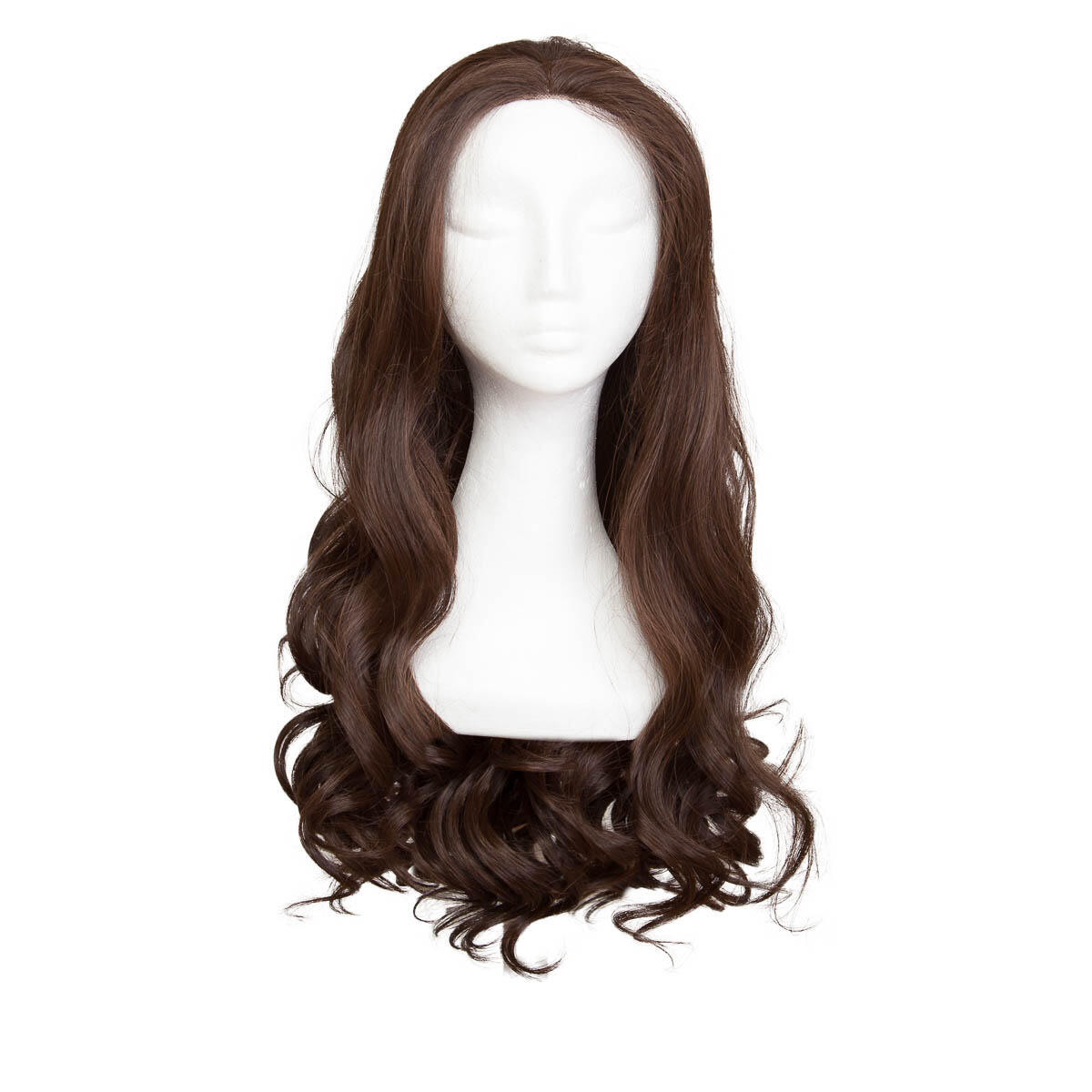 Lace Front Wig 2.2 Coffee Brown 60 cm