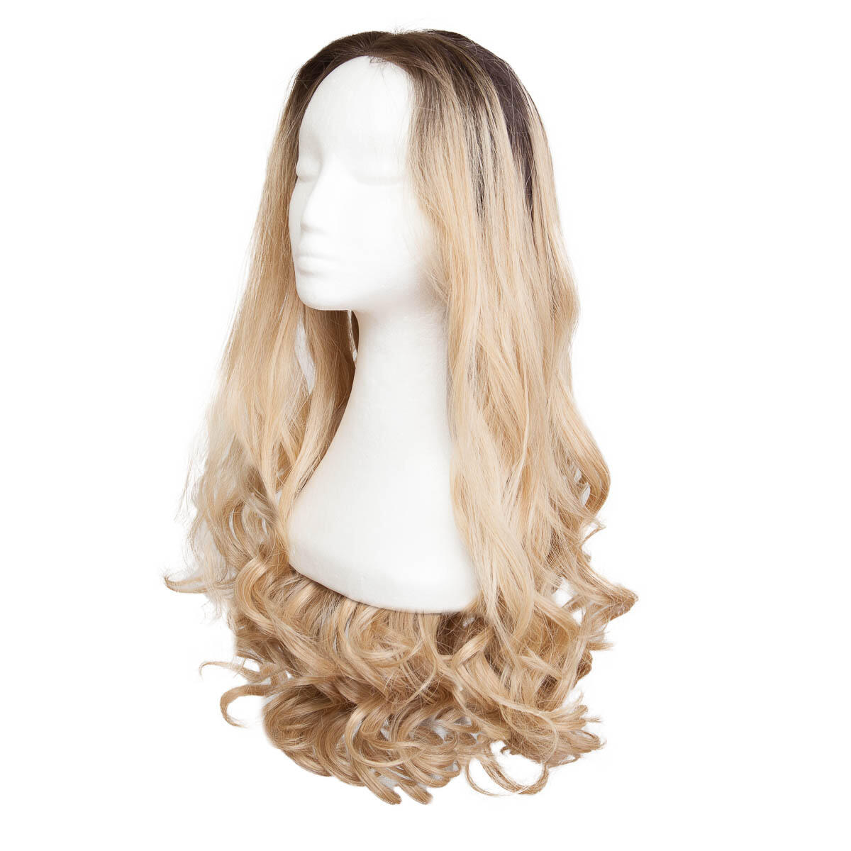 Lace Front Wig O2.3/9.0 Chocolate Brown/Scandinavian Blond 60 cm