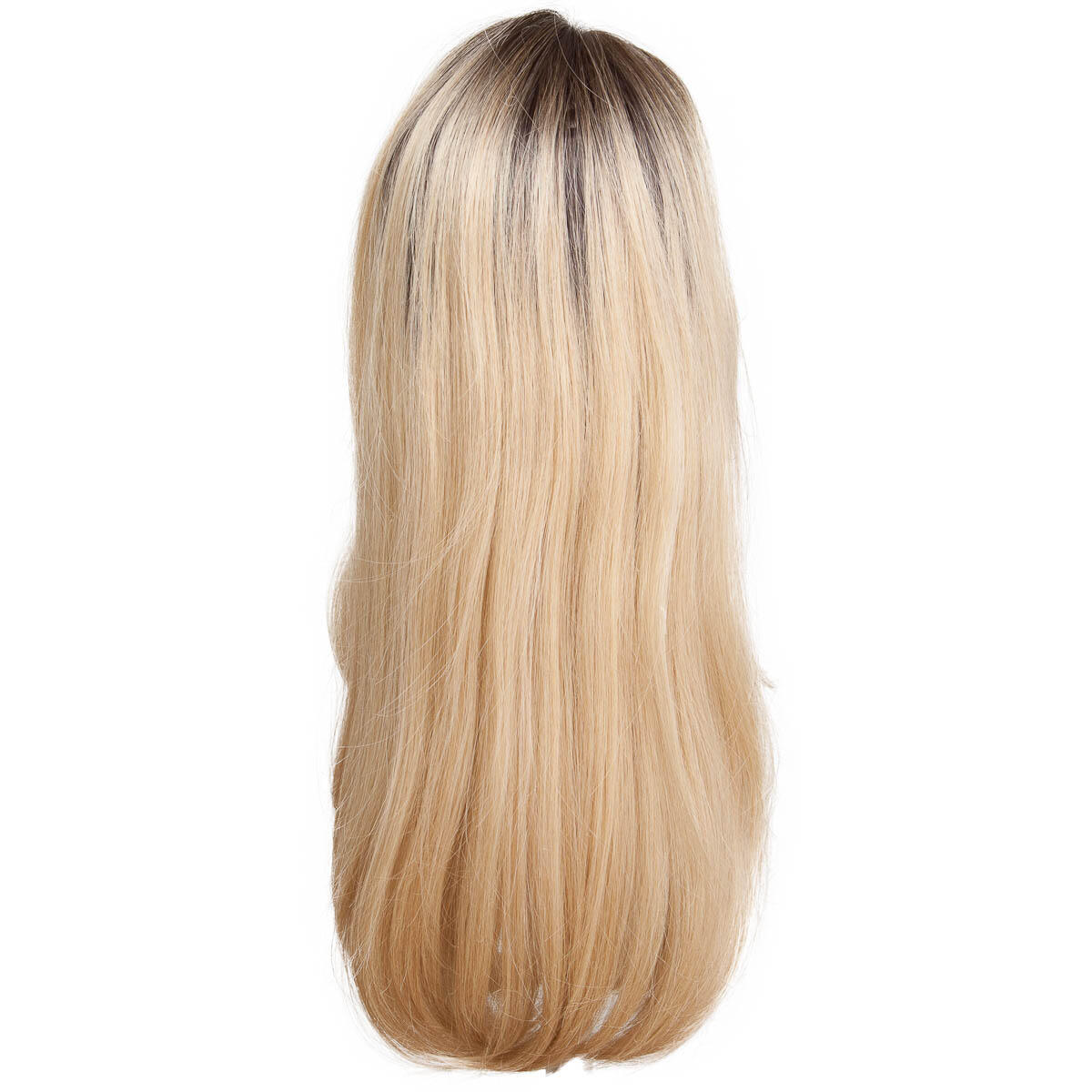 Lace Front Wig Long O2.3/9.0 Chocolate Brown/Scandinavian Blond 60 cm