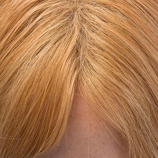Lace Wig Human Hair 7.5 Dark Blonde 45 cm