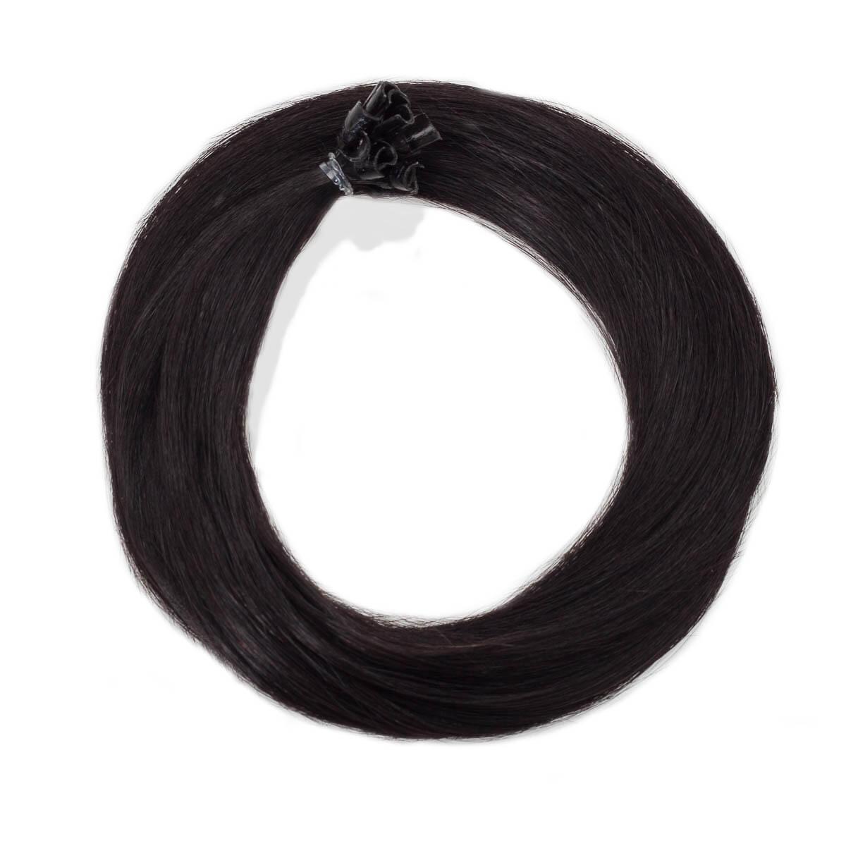 Nail Hair 1.2 Black Brown 30 cm