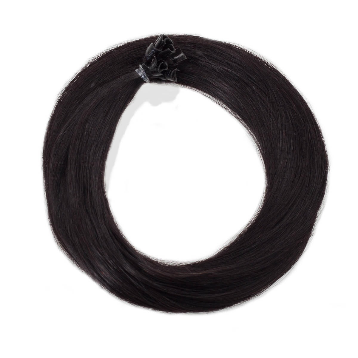 Nail Hair 1.2 Black Brown 40 cm
