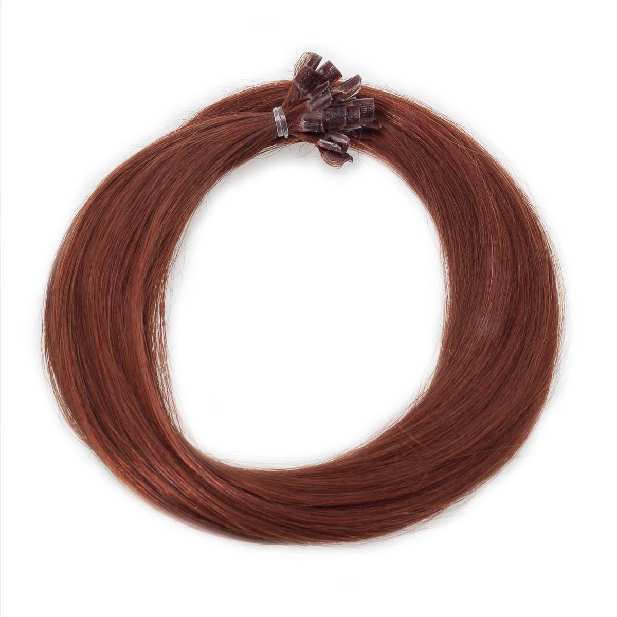Nail Hair 5.5 Mahogany Brown 50 cm