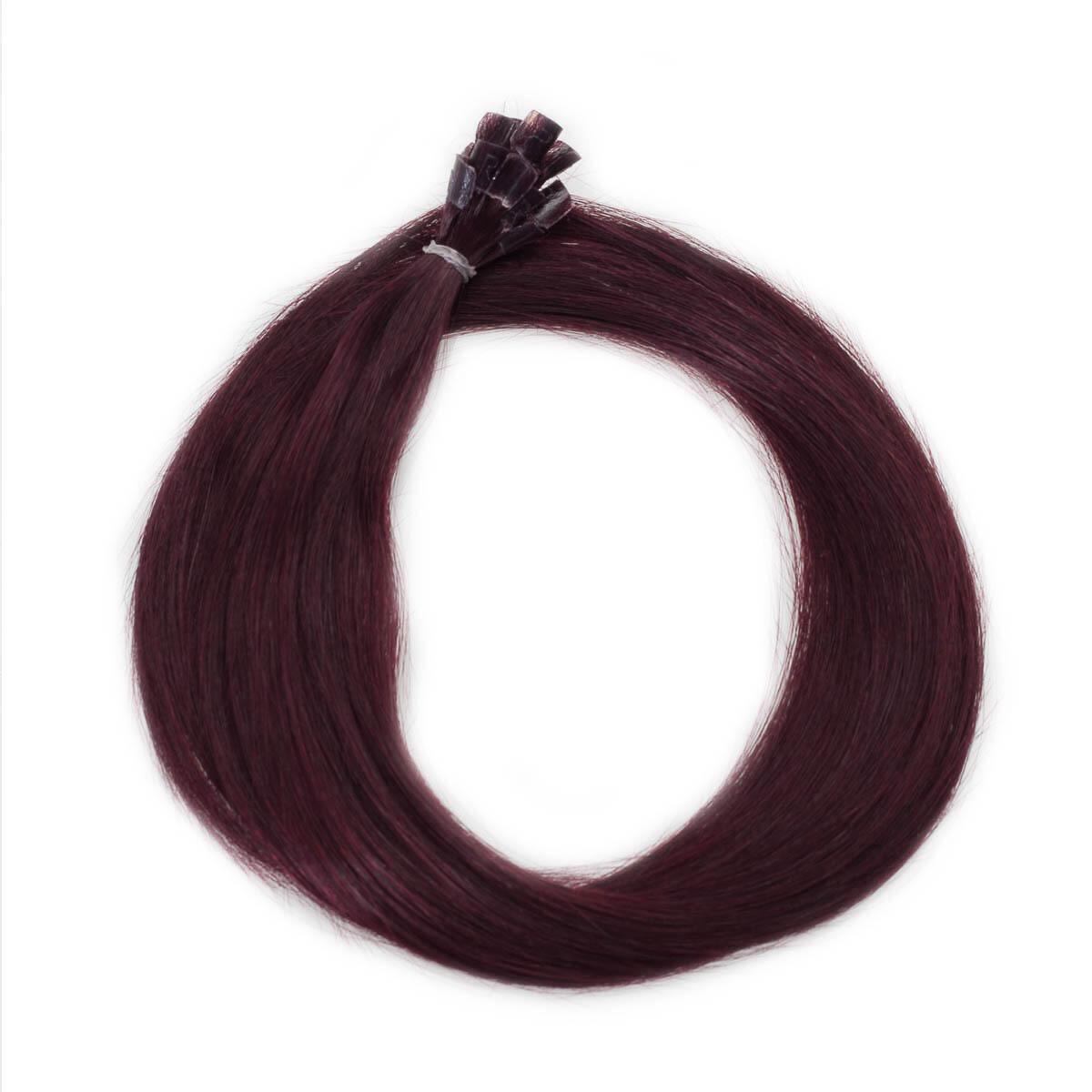 Nail Hair Original 6.12 Dark Mahogany Brown 30 cm
