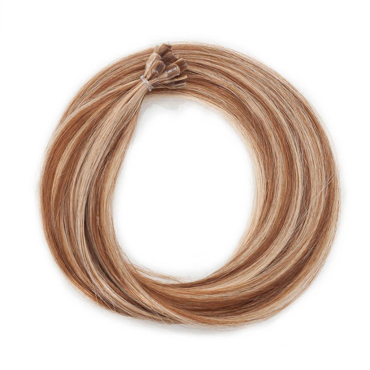 Nail Hair M5.4/7.8 Strawberry Brown Mix 50 cm