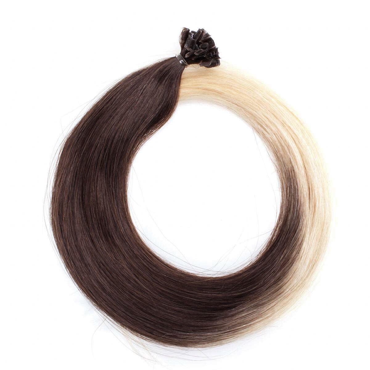 Nail Hair Original O2.6/8.0 Dark Ash Blond Ombre 40 cm