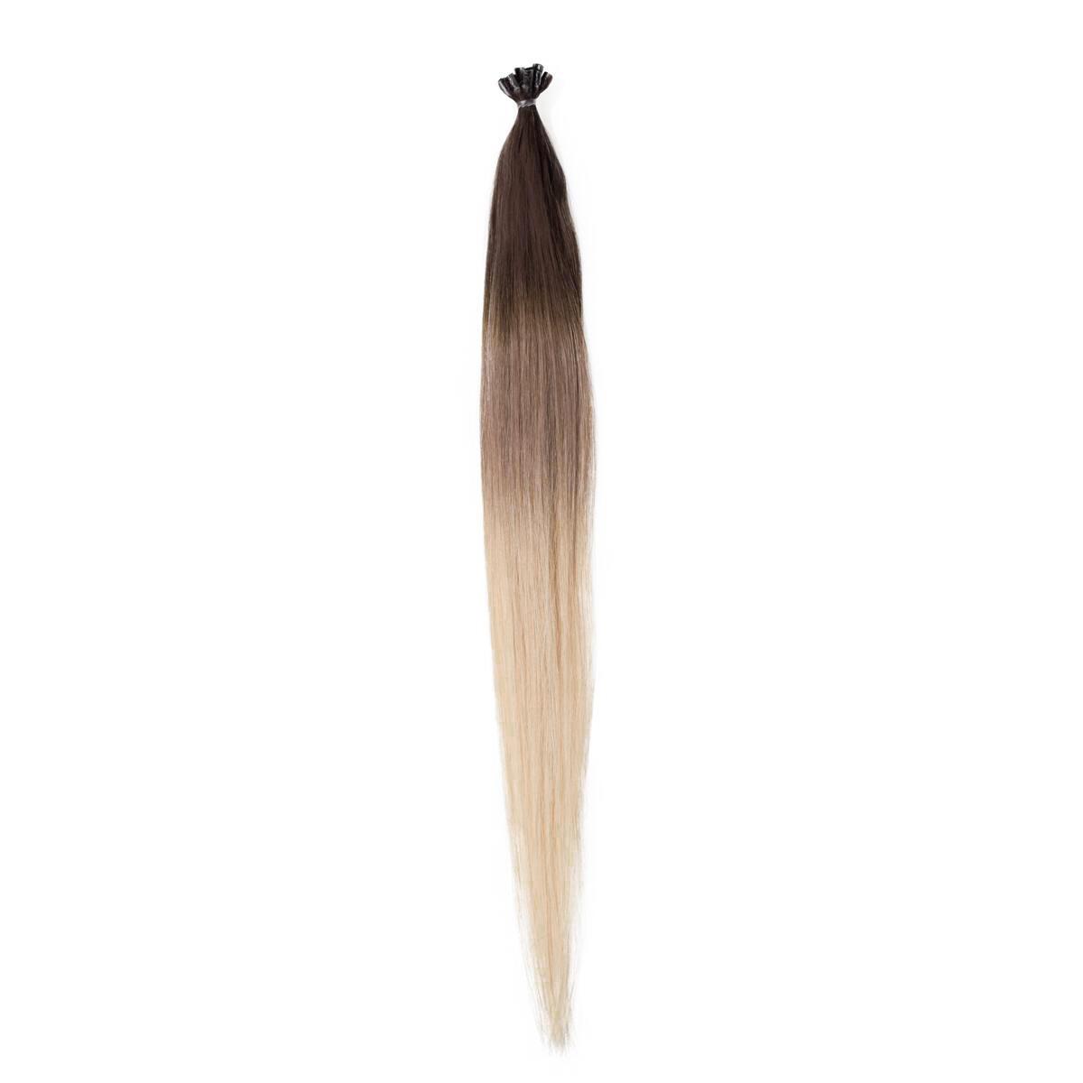 Nail Hair O2.6/8.0 Dark Ash Blond Ombre 50 cm