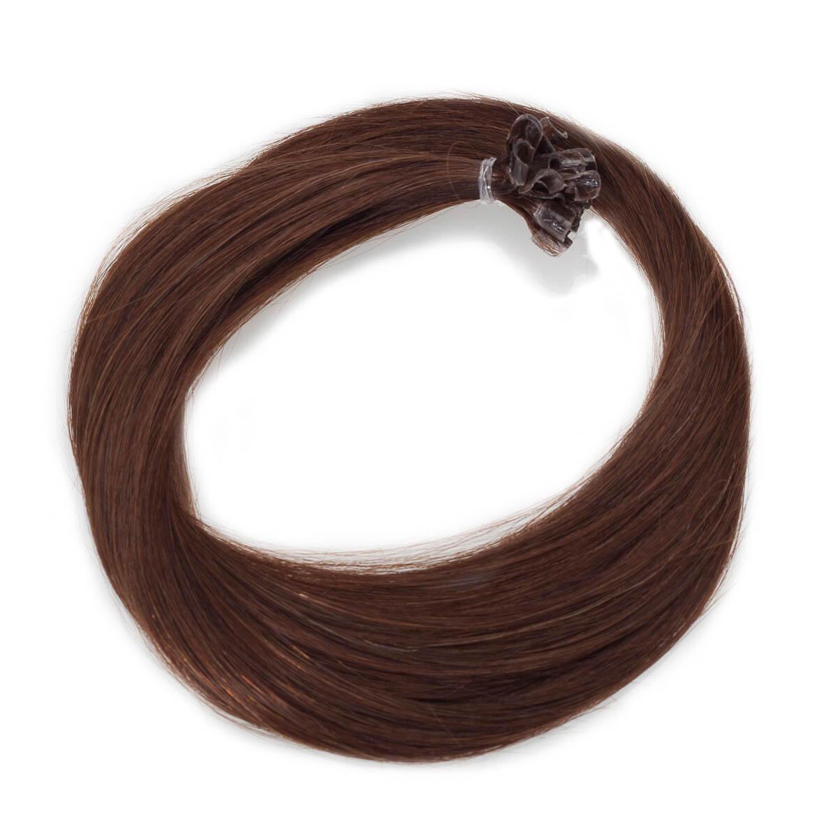 Nail Hair Premium 2.0 Dark Brown 60 cm