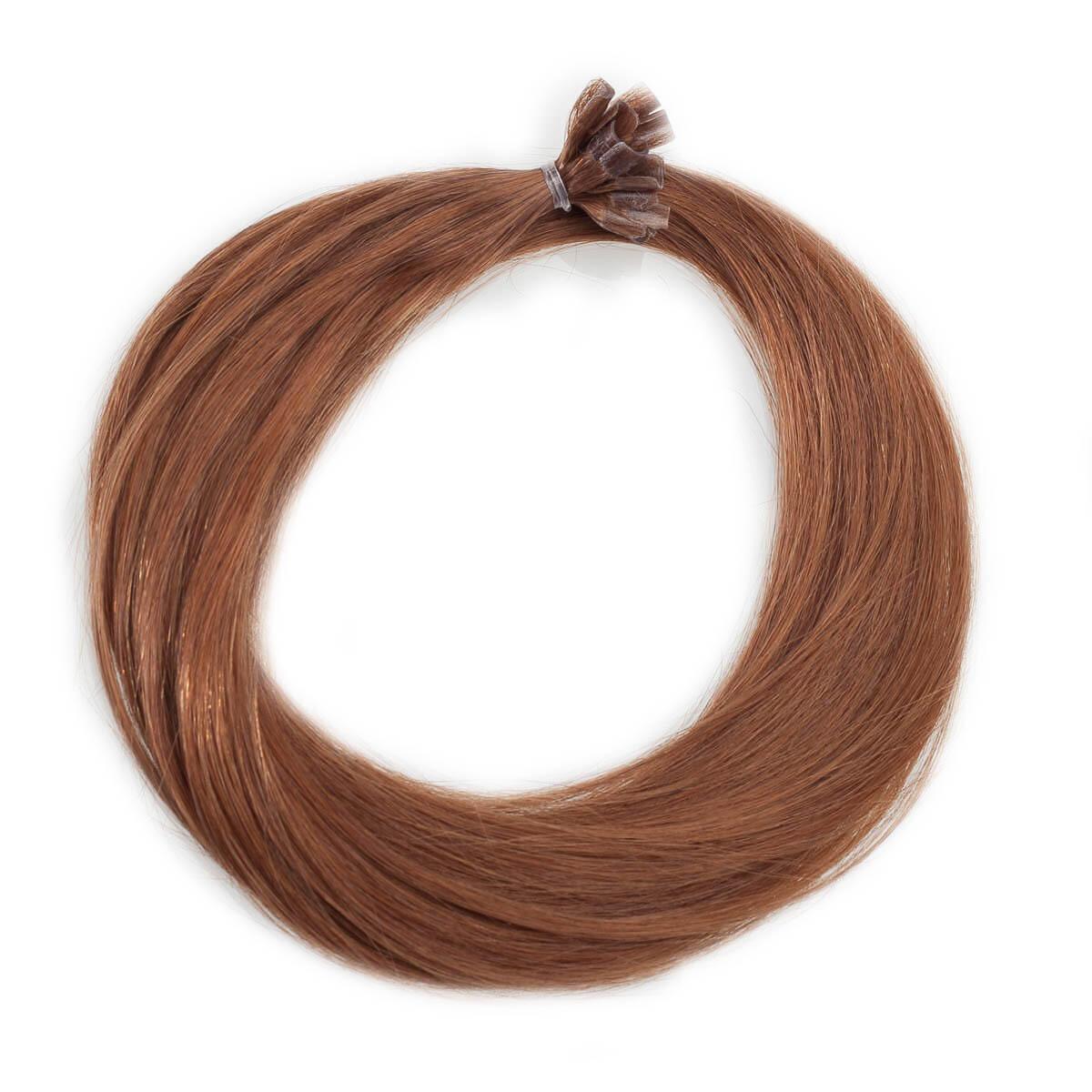 Nail Hair Premium 5.45 Dark Copper Brown 50 cm