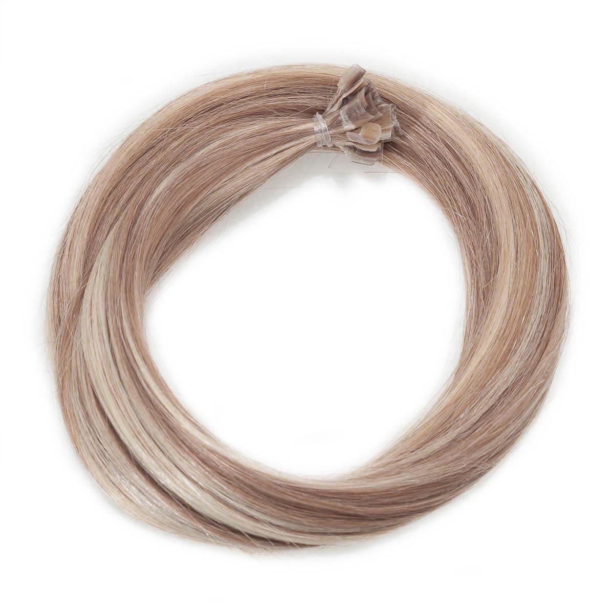 Nail Hair Premium M7.3/10.8 Cendre Ash Blonde Mix 30 cm