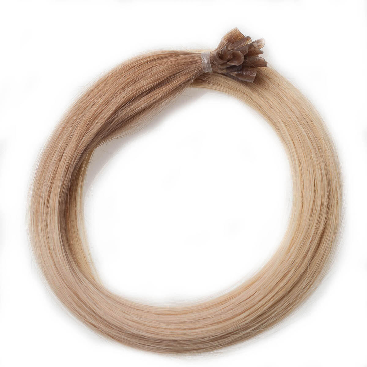 Nail Hair Premium O7.5/8.3 Golden Blond Ombre 50 cm