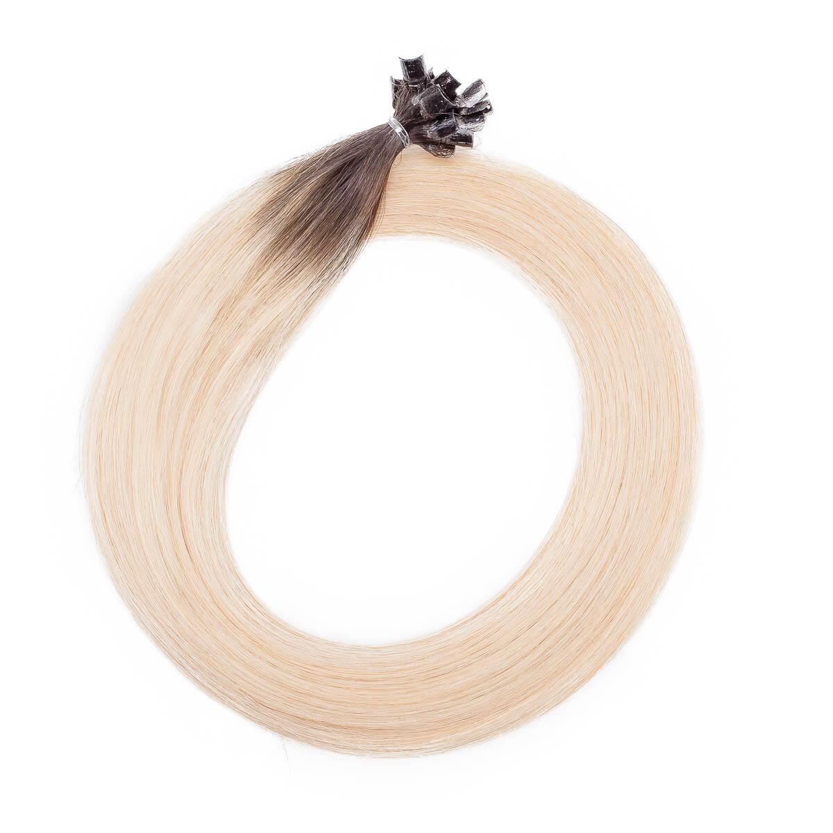 Nail Hair R2.6/8.0 Dark Ash Blonde Root 50 cm