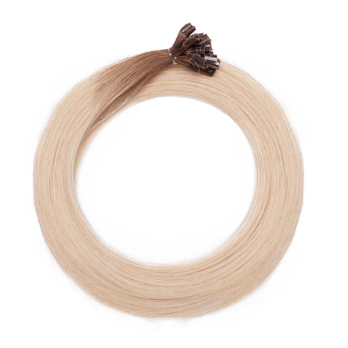 Nail Hair R5.1/10.8 Medium Ash Blonde Root 50 cm