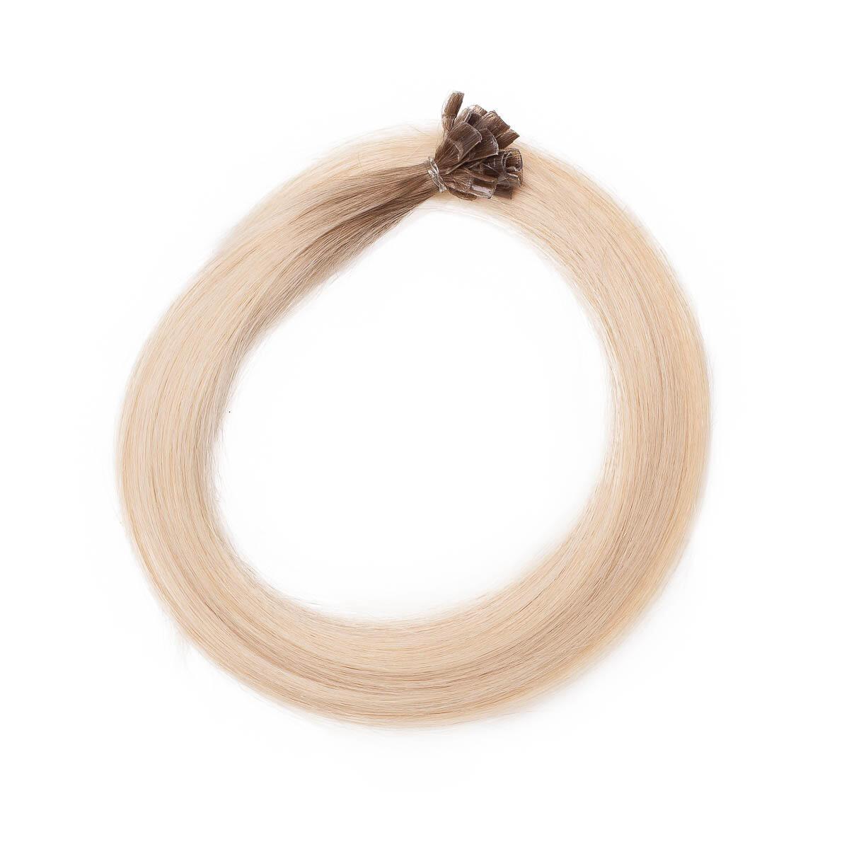 Nail Hair Premium R7.3/8.0 Cendre Golden Blonde Root 50 cm