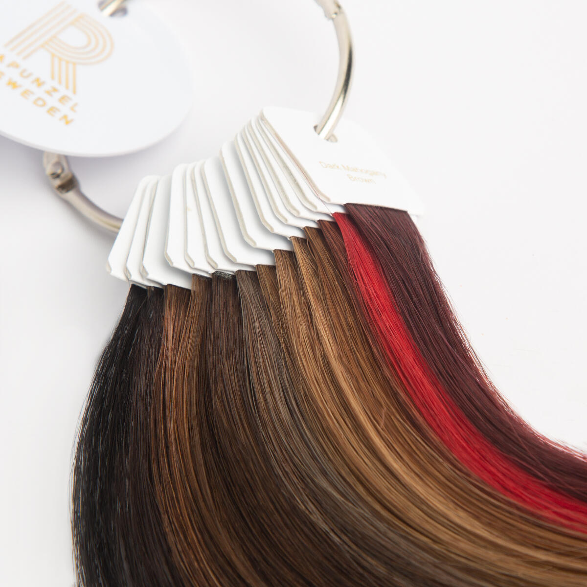 Dark color ring Human Hair null